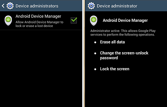 device administrator