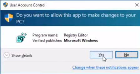 disable network access to windows registry