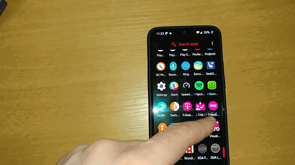 change caller id t mobile
